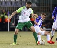 Ujpest FC v Ferencvarosi TC - Hungarian OTP Bank Liga  0-1 Stock Photo
