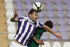 Ujpest gegen Bank-Ligaspiel Gyori ETO OTP Lizenzfreie Stockbilder
