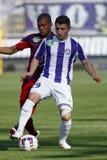 Ujpest - Videoton OTP Bank League football match Stock Photography