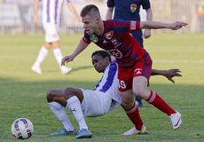 Ujpest - Videoton OTP Bank League football match Stock Photo
