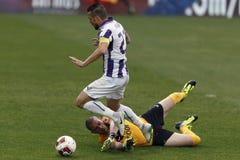 Ujpest vs. DVTK football match Royalty Free Stock Photos