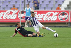 Ujpest vs. Honved OTP Bank League football match Stock Image