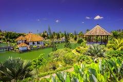 Ujung水宫殿/巴厘岛印度尼西亚 免版税图库摄影