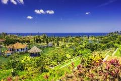 Ujung水宫殿/巴厘岛印度尼西亚 库存图片