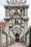 Ujung水宫殿,巴厘岛,印度尼西亚 免版税库存照片