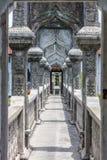 Ujung Water Palace, Bali Island, Indonesia. Bridge at Ujung Water Palace, Bali Island, Indonesia Royalty Free Stock Photo