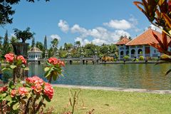 Soekasada Ujung Water Palace. Ujung Water Palace is a former palace in Karangasem Regency, Bali Stock Images