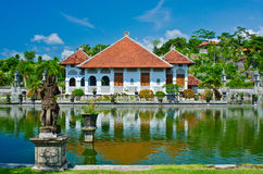 Ujung Water Palace showplace in Karangasem Regency. Bali, Indone Royalty Free Stock Photos