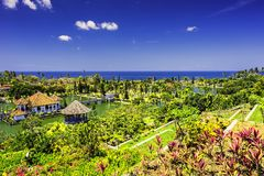Ujung wody pałac, Bali Indonesia// Obraz Stock