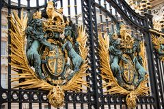 The UK's Royal Coat of Arms, London, United Kingdom Royalty Free Stock Photography