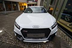 Układ bawi się coupe Audi TT RS Zdjęcia Stock