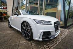 Układ bawi się coupe Audi TT RS Obraz Stock