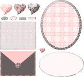 układ butiku modne różowy ilustracja wektor