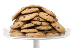 Układ scalony czekoladowi ciastka Obraz Royalty Free