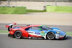 Układ scalony Ganassi Ściga się Ford GT przy Monza Obraz Stock