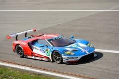Układ scalony Ganassi Ściga się Ford GT przy Monza Zdjęcie Stock