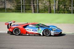 Układ scalony Ganassi Ściga się Ford GT przy Monza Zdjęcia Royalty Free