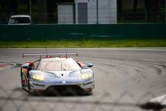 Układ scalony Ganassi Ściga się Ford GT test przy Monza Zdjęcia Stock