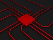 układ scalony komputer Fotografia Royalty Free