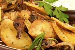 układ scalony piec na grillu smakowitego Fotografia Stock
