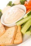 układ scalony pita półmiska warzywo Obraz Royalty Free