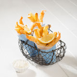 układ scalony ryba smażący japoński tempura Obraz Royalty Free