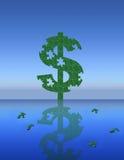 układanki pieniądze royalty ilustracja