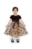 ukłon mała dziewczynka Obrazy Royalty Free