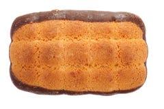 układ scalony czekolady ciastka Obrazy Stock
