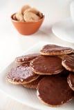 układ scalony czekolady ciastka Fotografia Royalty Free