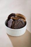 układ scalony czekolady ciastka Zdjęcie Royalty Free