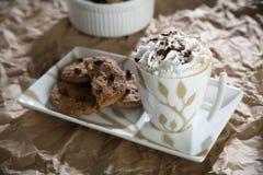 układ scalony czekolady ciastka Obraz Royalty Free