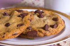 układ scalony czekolady ciastko Zdjęcia Stock