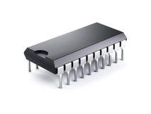 układ scalony komputer Zdjęcie Stock