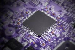układ scalony komputer Zdjęcia Stock