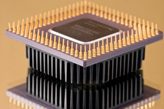 układ scalony procesor Zdjęcia Royalty Free