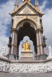 uk Albert pomnik London zdjęcia stock