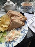 UK, Anglia, Nottingham, lunch Fotografia Stock
