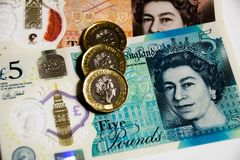 UK Bank polymer currency note Stock Photography