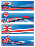 Uk banners Stock Photos