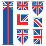 Uk banners Royalty Free Stock Images