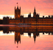 uk Ben parlament duży London Zdjęcie Stock