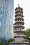 UK,Birmingham,Pagoda Royalty Free Stock Photography