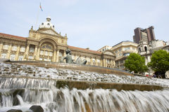 uk Birmingham urząd miasta Zdjęcia Royalty Free