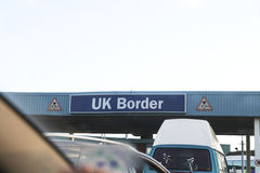 UK border Royalty Free Stock Images