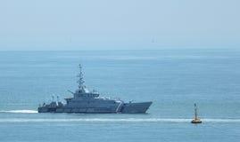 UK Border Agency ship. A ship of the UK Border Agency at sea Stock Images