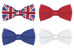 Uk bow tie Stock Photos