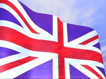 Uk British Flag Royalty Free Stock Images