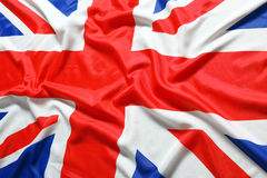 UK, British flag. Union Jack stock photo