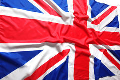 UK, British flag Royalty Free Stock Photography